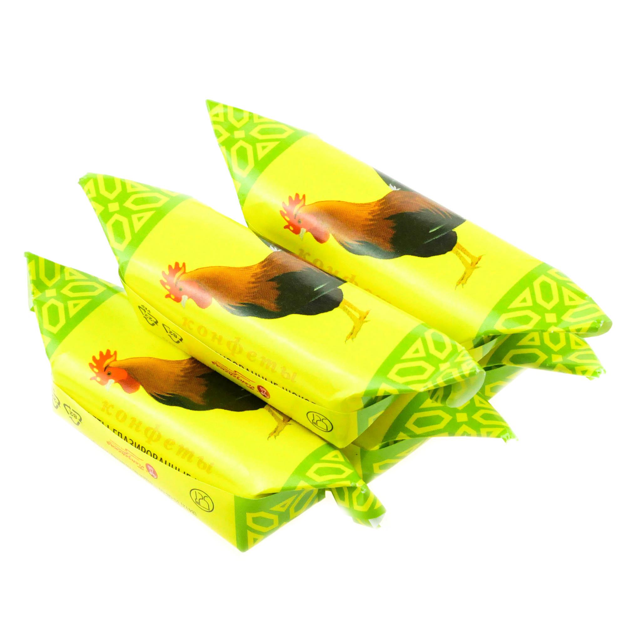 Конфеты Пензенская кондитерская фабрика 1кг Петушок масляная головушка купить с доставкой на дом в интернет-магазине Торнадо